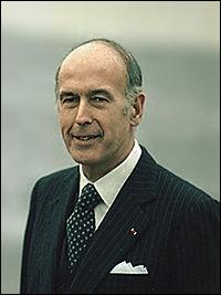 Quel est le parti de Valéry Giscard d'Estaing ?