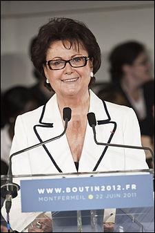 Quel est le parti de Christine Boutin ?