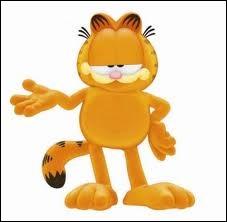 Quel est le plat préféré du chat créé par Jim Davies Garfield ?