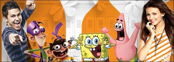 Quelle est la couleur principale de Nickelodeon ?