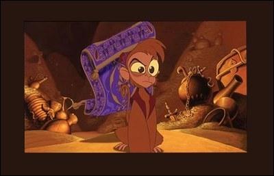 Comment s'appelle le singe d'Aladdin ?