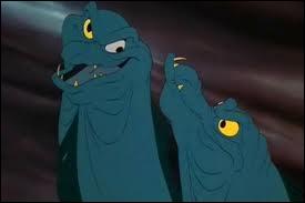 Comment s'appellent les acolytes d'Ursula dans  La petite sirène  ?