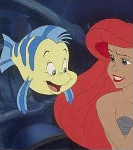 Comment s'appelle le poisson de la petite sirène ?