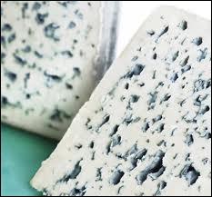Voici ce qu'on appelle un fromage  bleu , car la noble moisissure qui s'y loge est bleutée. Le roquefort est un  bleu . Qu'est-ce qui produit les parties  bleues  ?