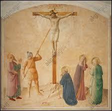 La Sainte Lance serait l'arme qui a percé le flanc droit de Jésus lors de sa crucifixion. Quel est le nom du soldat romain qui vérifia ainsi la mort du Christ ?