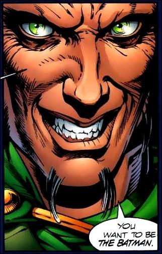2005 , Liam Neeson joue un méchant (Ra's al Ghul) ;Ra's al Ghul signifie :