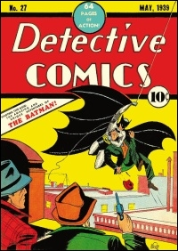 Batman est un personnage de fiction créé par Bob Kane et Bill Finger dans Detective Comics7 en :