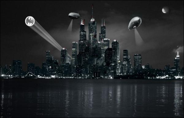 Batman défend sa ville :