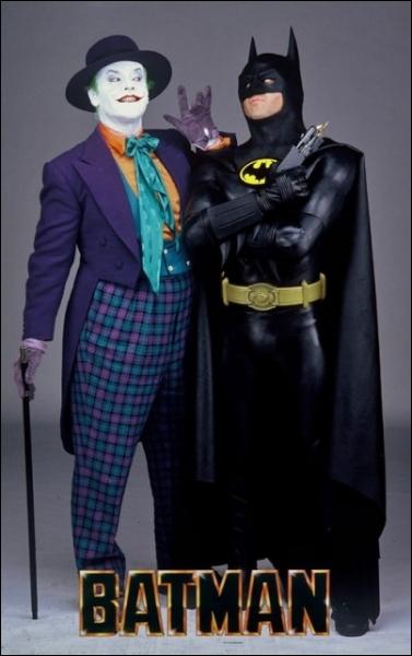 Dans son premier Batman ( 1989) Jack Nicholson jouait :