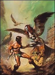 Le monstre de la mythologie grecque à tête de femme et à corps de rapace est... . .