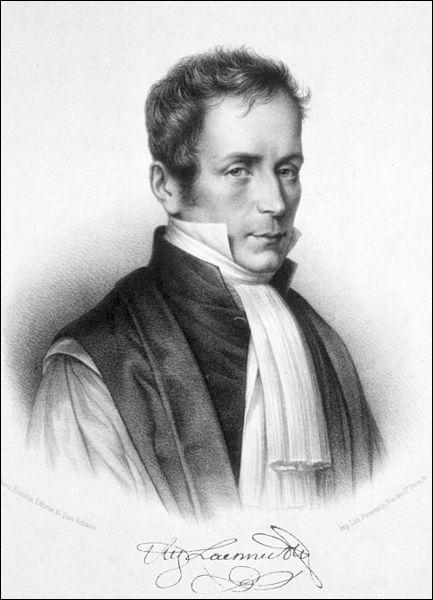 René Laennec est un médecin et inventeur français. Il met au point en 1816 l'auscultation comme méthode de diagnostic médical et il crée en 1819 l'instrument d'écoute indispensable à l'auscultation.
