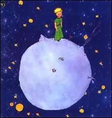 """Mais sa planète est ---- trop petite. Il n' y a pas de place pour deux----"""""""