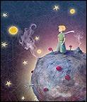 Ce que le petit prince n'osait pas s'---- c'est qu'il ---- cette planète bénie à cause,