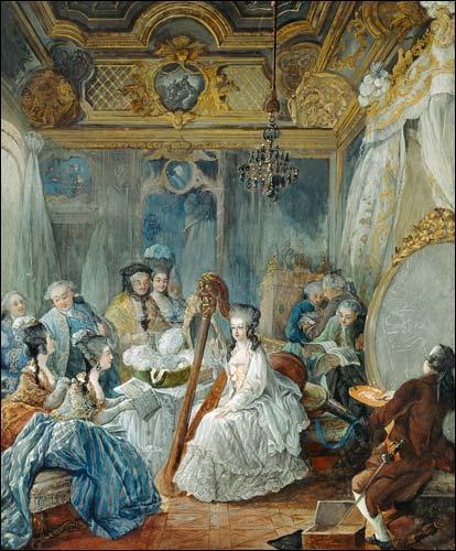 Grâce à qui la mère de Marie-Antoinette était-elle au courant des faits et gestes de sa fille ?