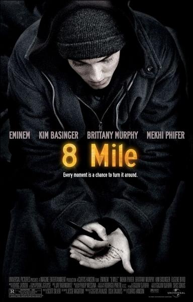 En 2002,  8 Miles , retrace les débuts du rappeur Eminem. Ce film reçoit un Oscar; lequel ?