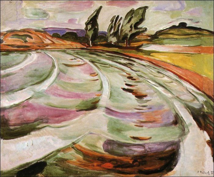 Est-ce Munch qui a peint La vague ?