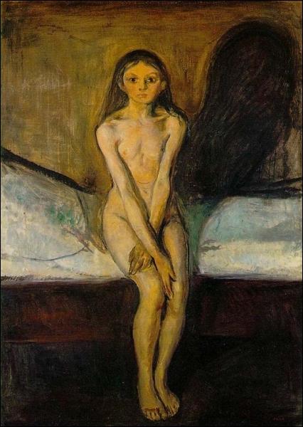 Est-ce Munch qui a peint Puberté ?