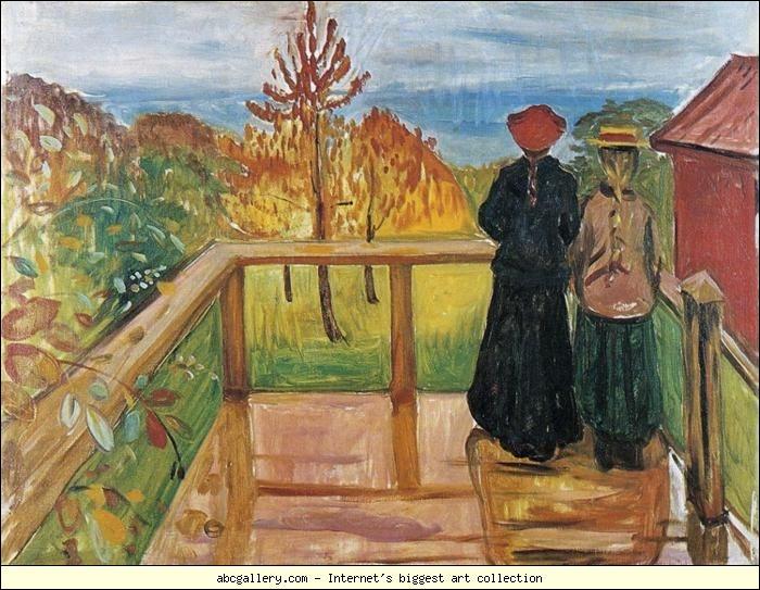 Est-ce Munch qui a peint Ma pluie ?