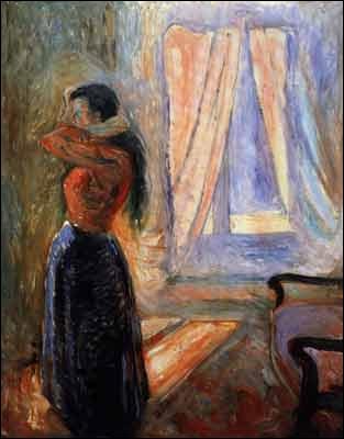 Est-ce Munch qui a peint Femme à sa toilette ?