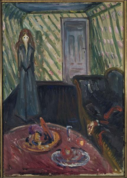 Est-ce Munch qui a peint La meurtière ?