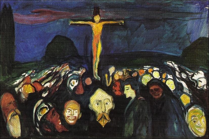 Est-ce Munch qui a peint Golgotha ?