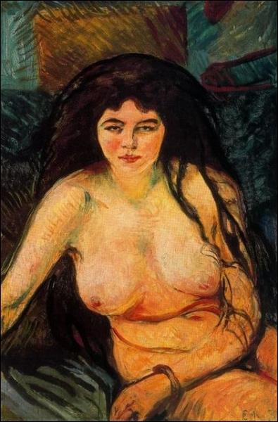 Est-ce Munch qui a peint ce nu ?