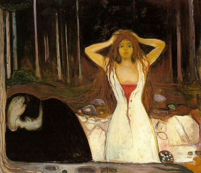 Est-ce Edvard Munch qui a peint ce tableau ?