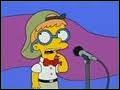 A la finale du concours d'orthographe Lisa se retrouve contre ... ...