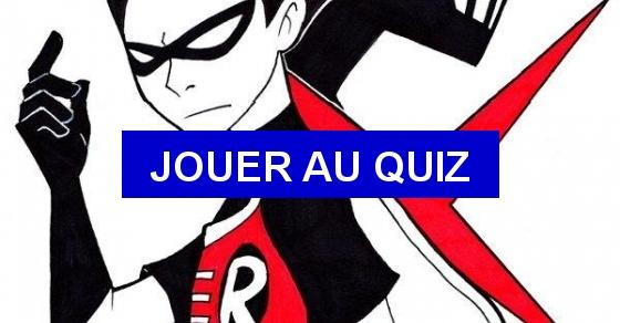 Teen Titans lieben Quiz