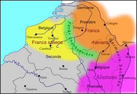 De quel peuple  barbare  germanique, Clovis est-il originaire ?