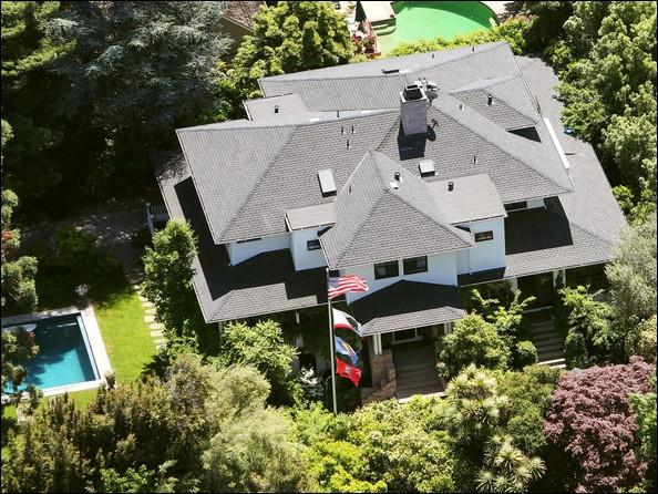 Cette maison de palo alto a été achetée par une star planétaire également a votre