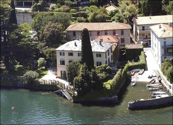 Quizz l o vivent les stars quiz celebrites people - Maison de georges clooney lac de come ...