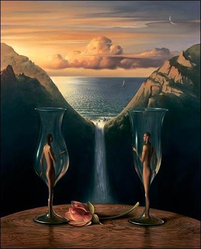 Bien connu Quizz Salvador Dali ou Vladimir Kush ? - Quiz Peintures, Peintres  IQ14
