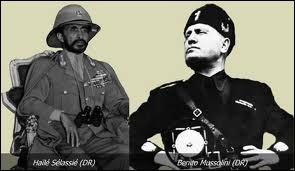 En quelle année l'armée de Mussolini envahit-elle l'Éthiopie ?