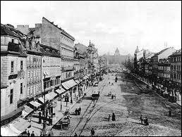 Sous la domination de quel Empire se trouvait Prague en 1914 ?