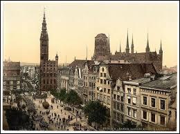 Dans quel Etat se trouvait la ville de Dantzig en 1914 ?