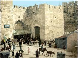Sous la domination de quel Etat se trouvait Jérusalem en 1914 ?