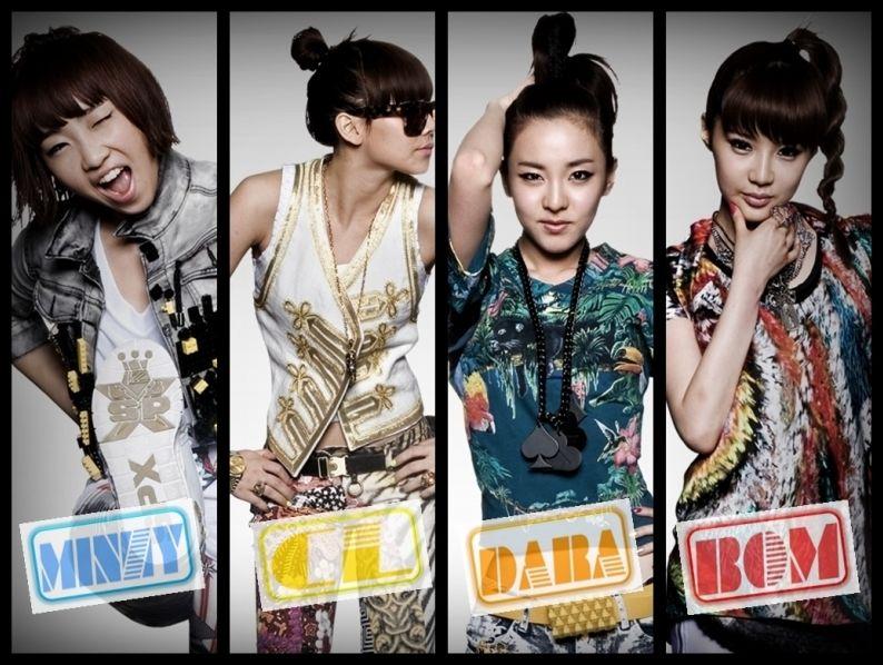 K-POP groupes