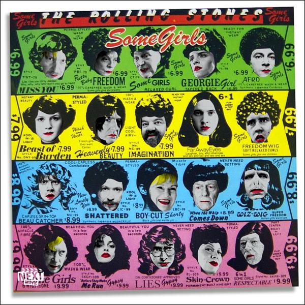 Sur la pochette des Rolling Stones, vous pouvez voir 20 personnages issus du monde de Harry Potter. Qui est la personne figurant au milieu de la ligne jaune ?