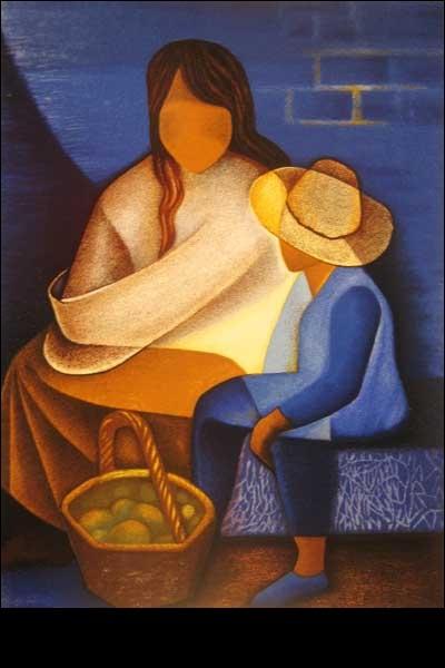 Qui a peint La mère et l'enfant ?