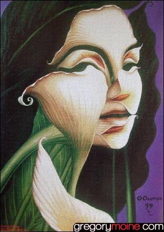 Qui a peint La dame aux lys ?