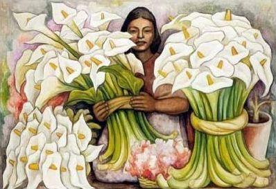 Peintures au parfum du Mexique