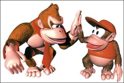 Pour Donkey Kong Diddy est ...