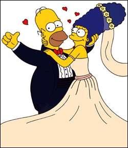 Combien d'années séparent Marge et Homer ?