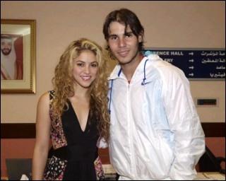 Qui est la fille représentée avec Rafael Nadal ?