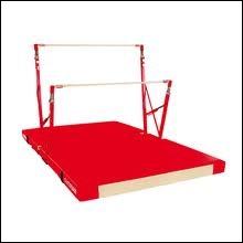 Les barres asymétriques sont un agrès de gymnastique artistique...