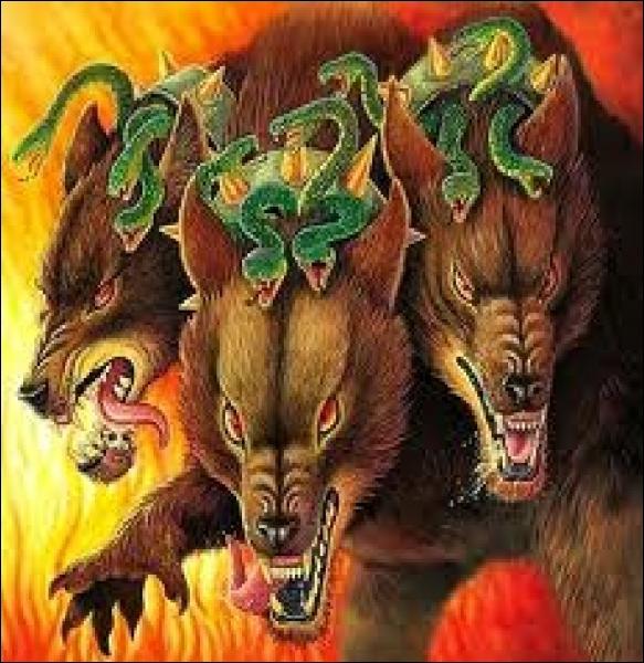 Le Cerbère est un chien à trois têtes qui gardaient les enfers. Par qui fut-il enchaîné ?