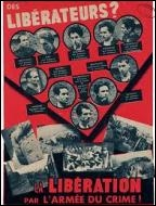 Comment a-t-on surnommé cette célèbre affiche de la propagande nazie qui présentait des héroïques résistants comme des terroristes ?