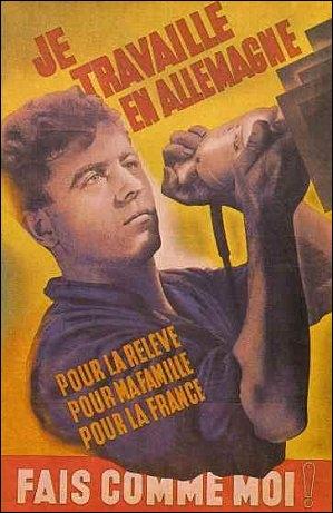 Le régime de Vichy tenta d'amener les Français à travailler en Allemagne pour participer à l'effort de guerre contre le bolchévisme. En raison de l'échec de la propagande, que décida le régime nazi ?