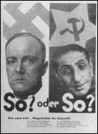 Des affiches agressives placardées sur les murs des villes étaient destinées à manipuler les masses. D'après cette affiche, qui sont les principaux ennemis de l'Allemagne nazie ?
